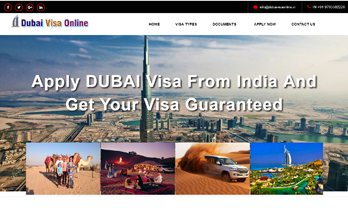 Visa and passport Services website