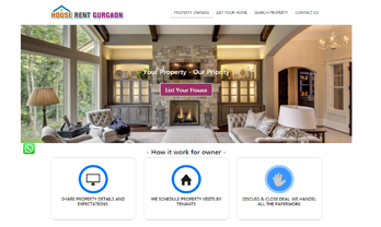 Property and house Rent website